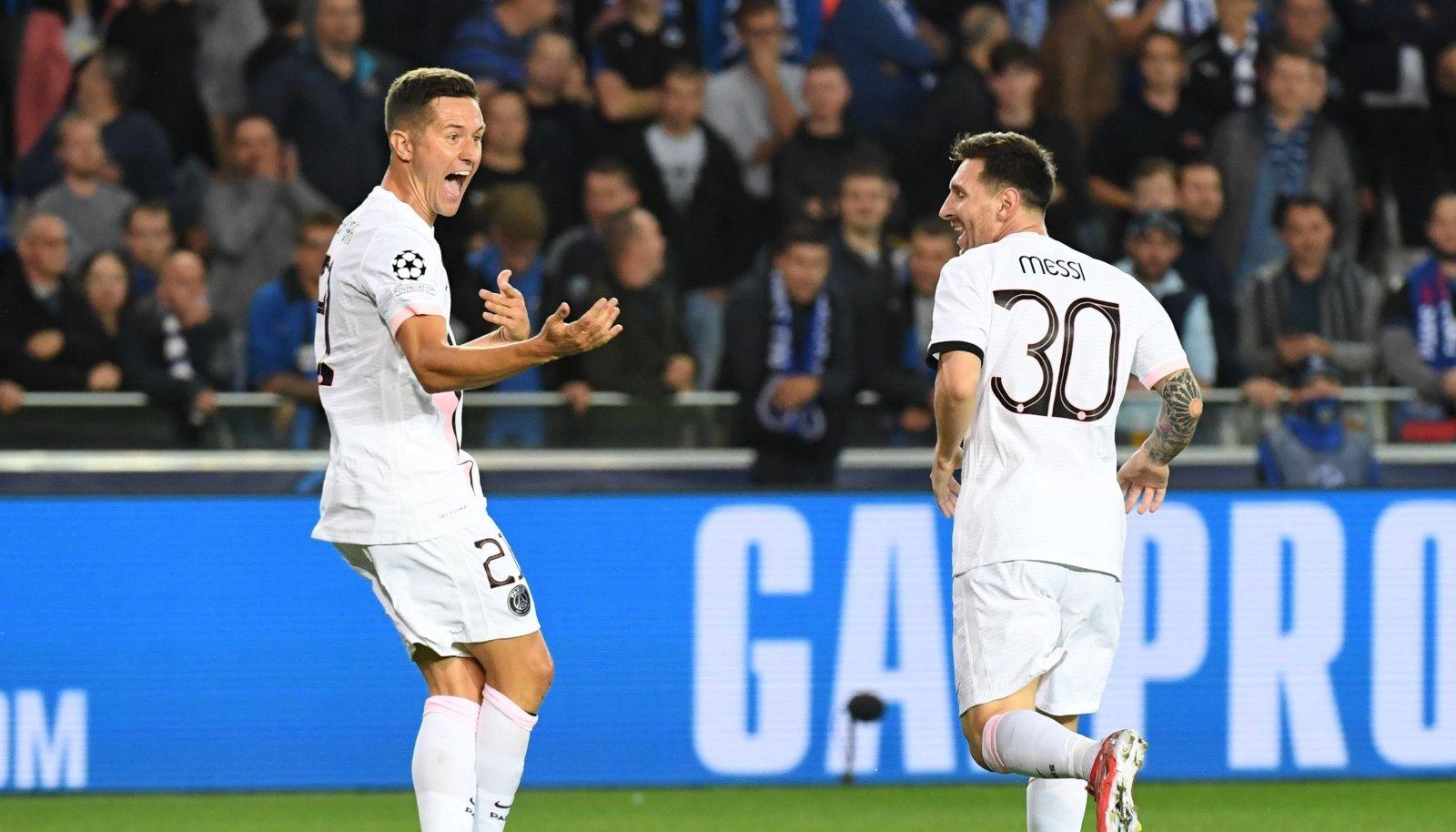 Ander Herrera ja Lionel Messi