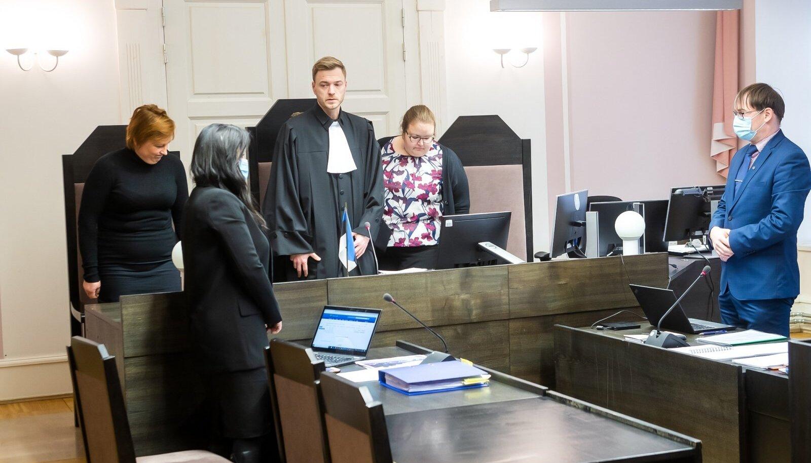 Andres Reinarti kohtuistung, kaebealune ei tulnud kohale