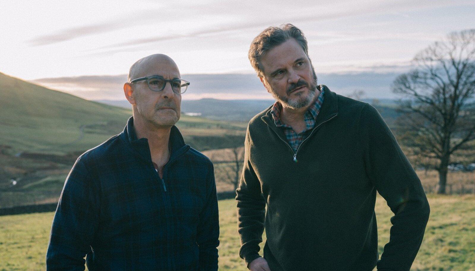 Stanley Tucci ja Colin Firth on ka päriselus sõbrad juba 20 aastat.