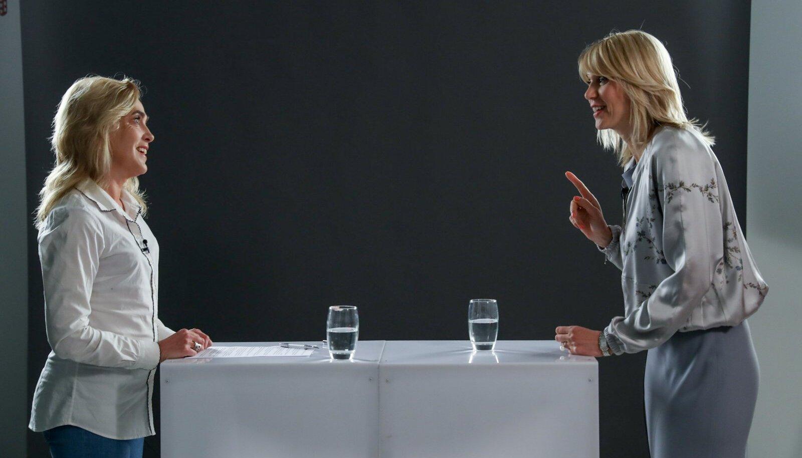 """""""Käsi südamel, ma ei ole Jüri Ratasega kordagi arutanud teemat, kas ma võiksin juhtida mõnda riigiettevõtet või tuleksin tagasi poliitikasse,"""" ütles Urve Palo."""
