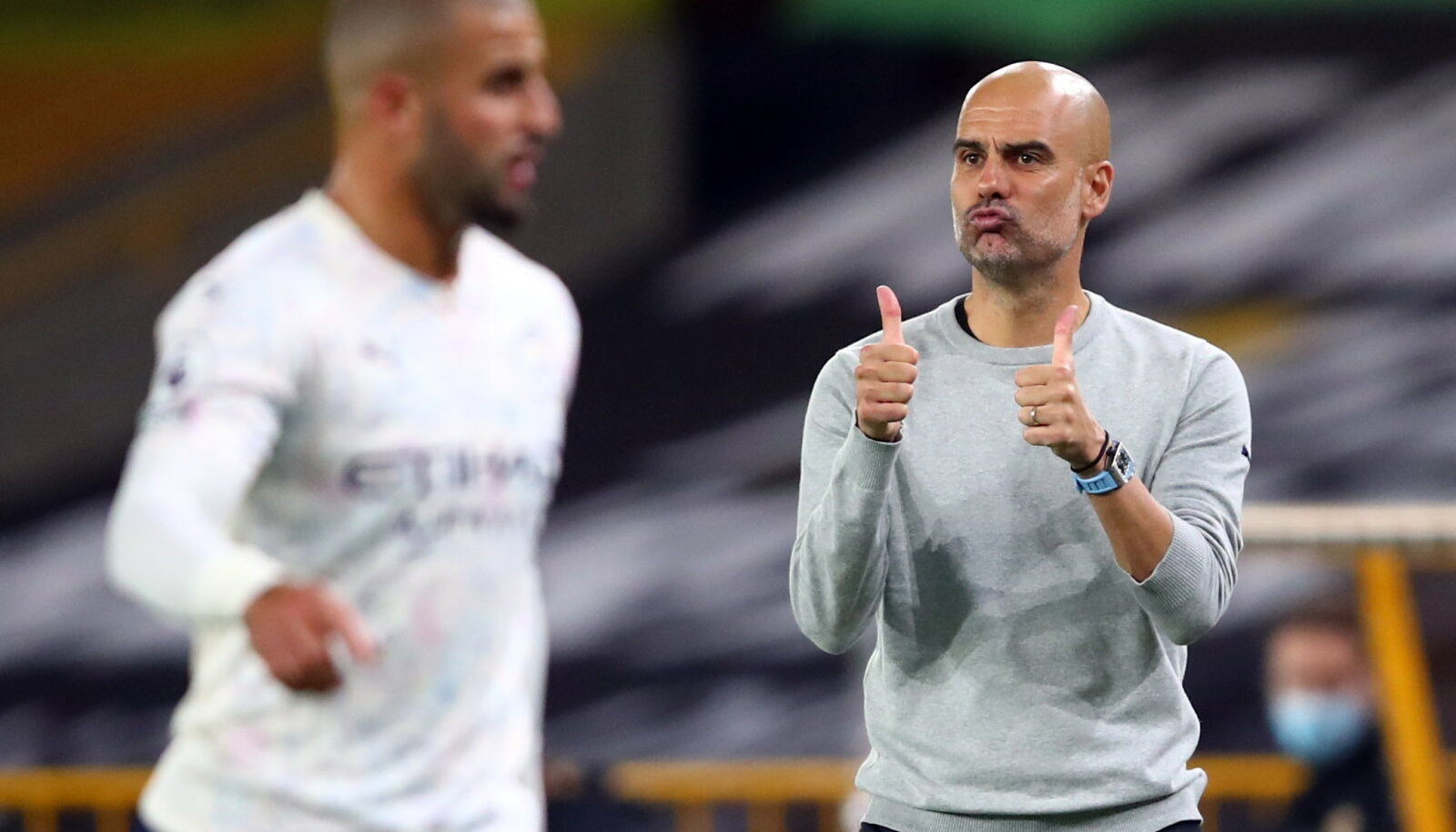 City peatreener Pep Guardiola