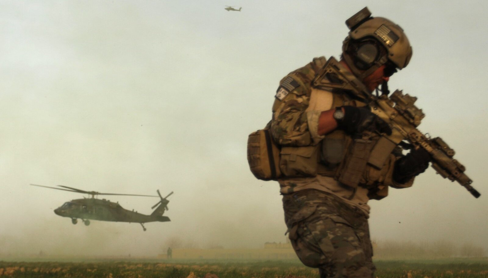 USA eriüksuse sõdur Afganistanis