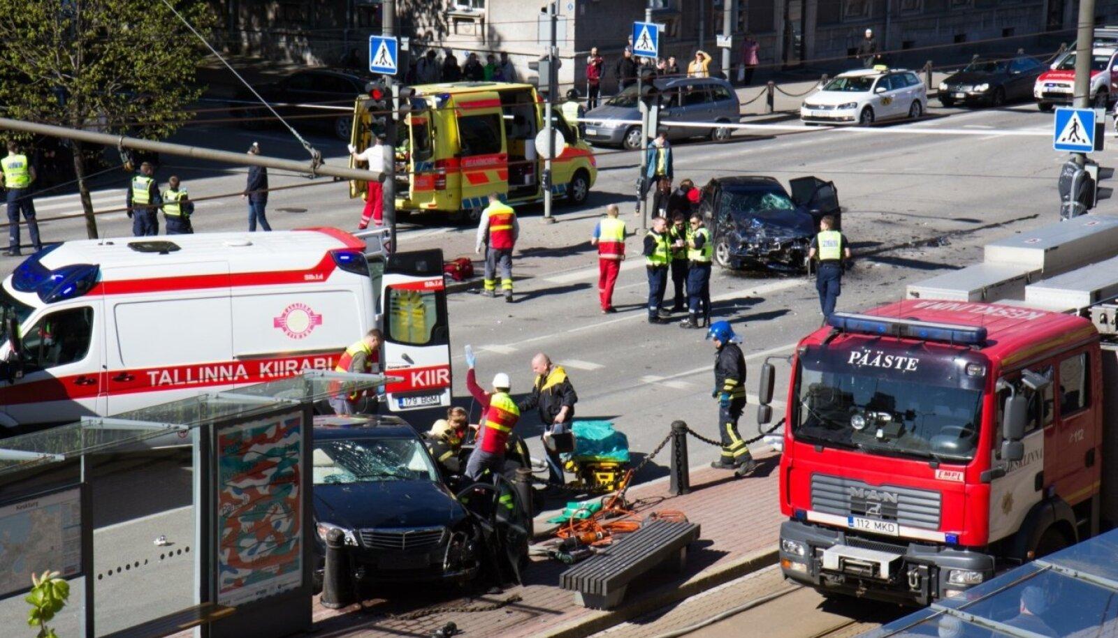 Tartu maanteel juhtunud suurõnnetus