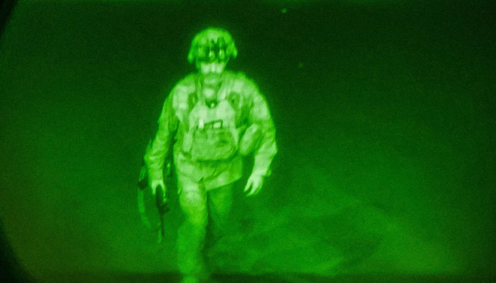 Viimane USA sõjaväelane major Chris Donahue lahkub Afganistanist.