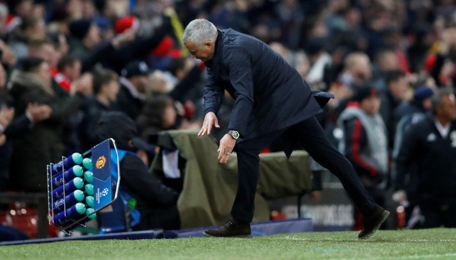Jose Mourinho raevukas väravatähistus võib talle veel pahanduse kaela tuua.