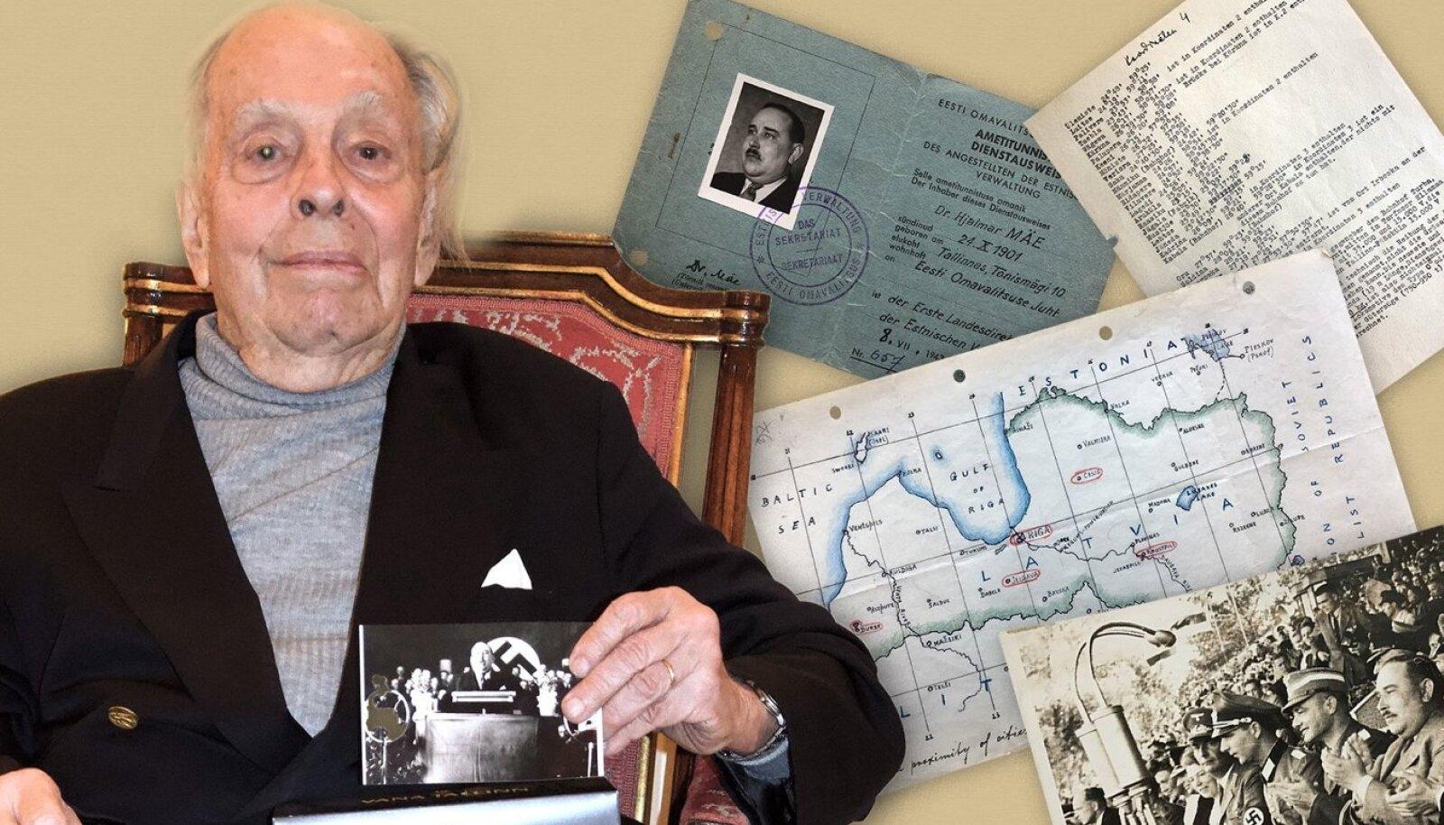 SÕJAVÄELUURAJA: USA luuraja Robert Gerald Livingston hankis 1940ndate lõpus Euroopas Hjalmar Mäelt sõjaks tarvilikke dokumente.