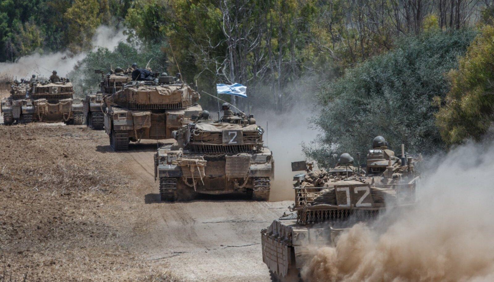 Iisraeli väed Gazas 2014. aastal.