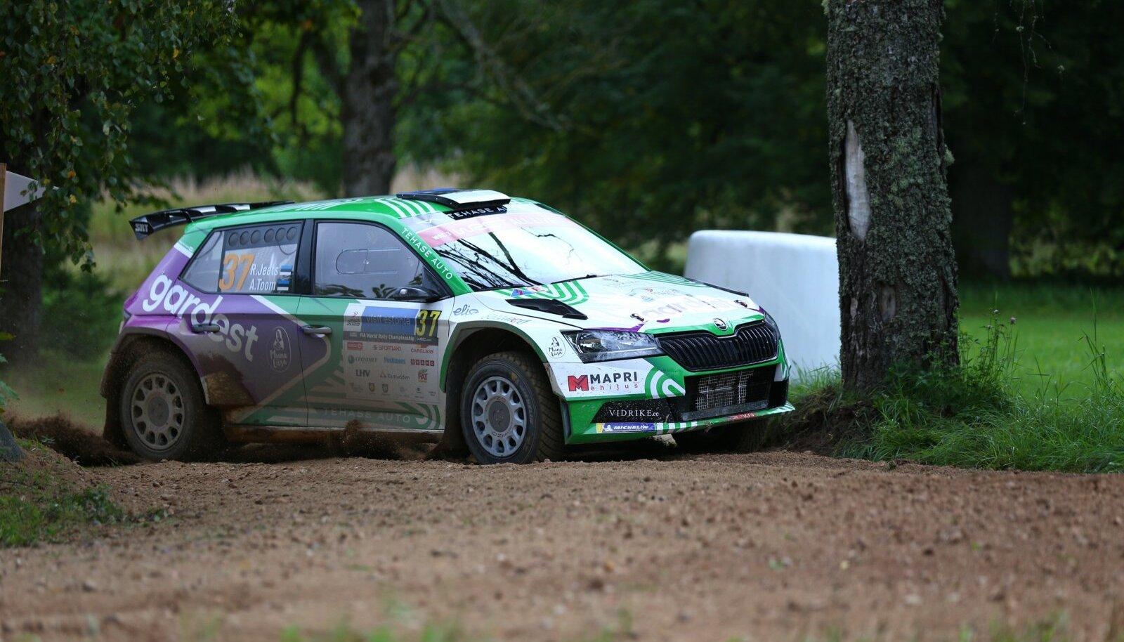 Raul Jeets Rally Estonial.