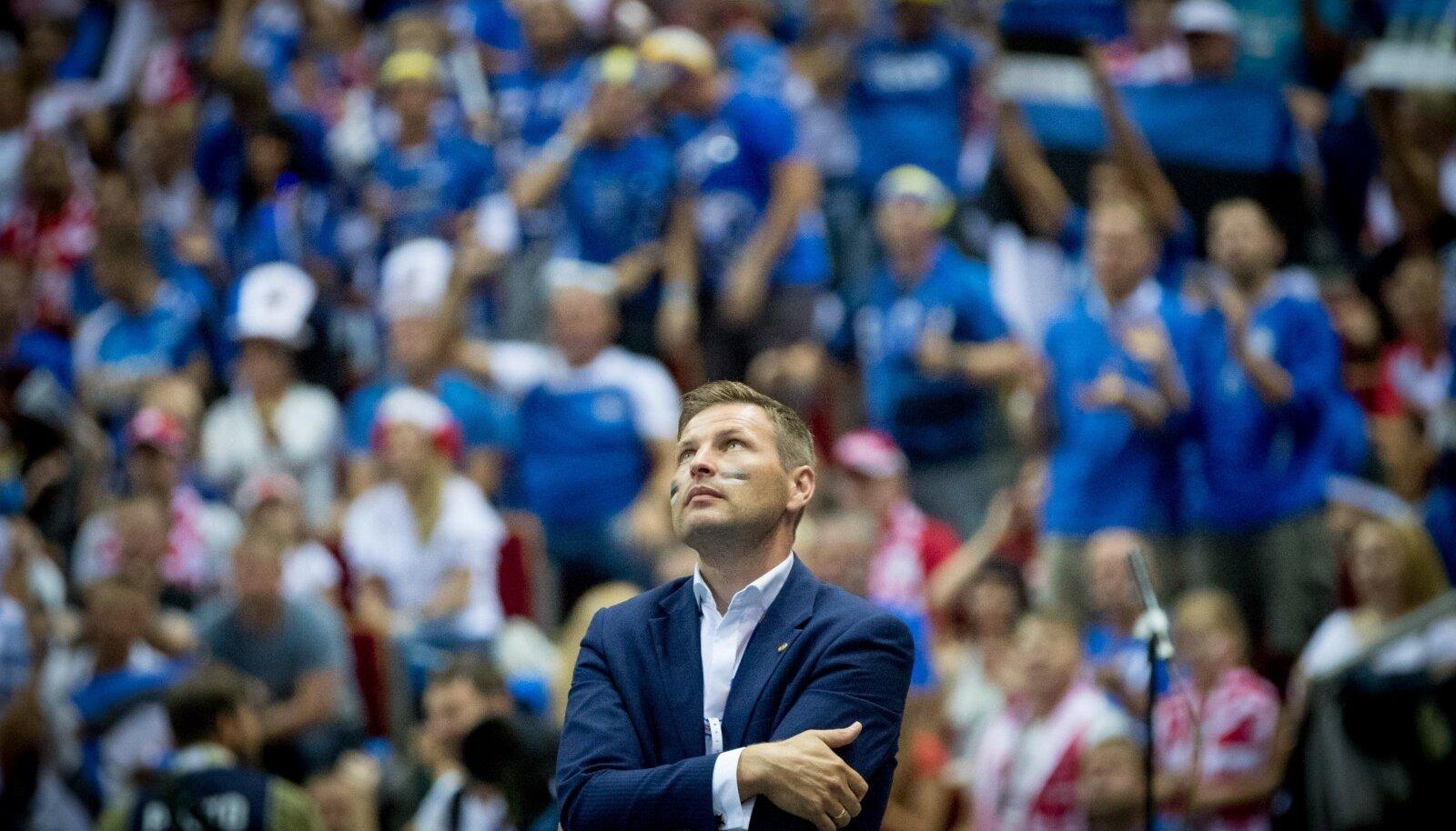 Hanno Pevkur tahab võrkpalli positsiooni Euroopas parandada.