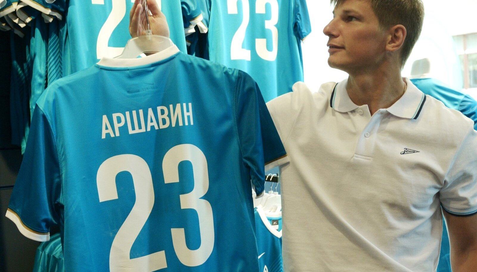 Introducing new F.C.Zenit players