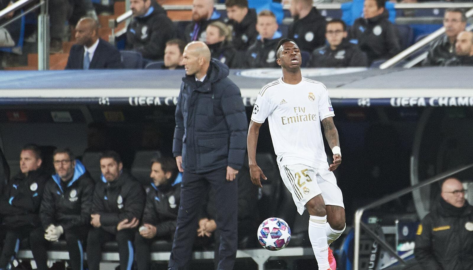 Zinedine Zidane ja Vinicius juunior