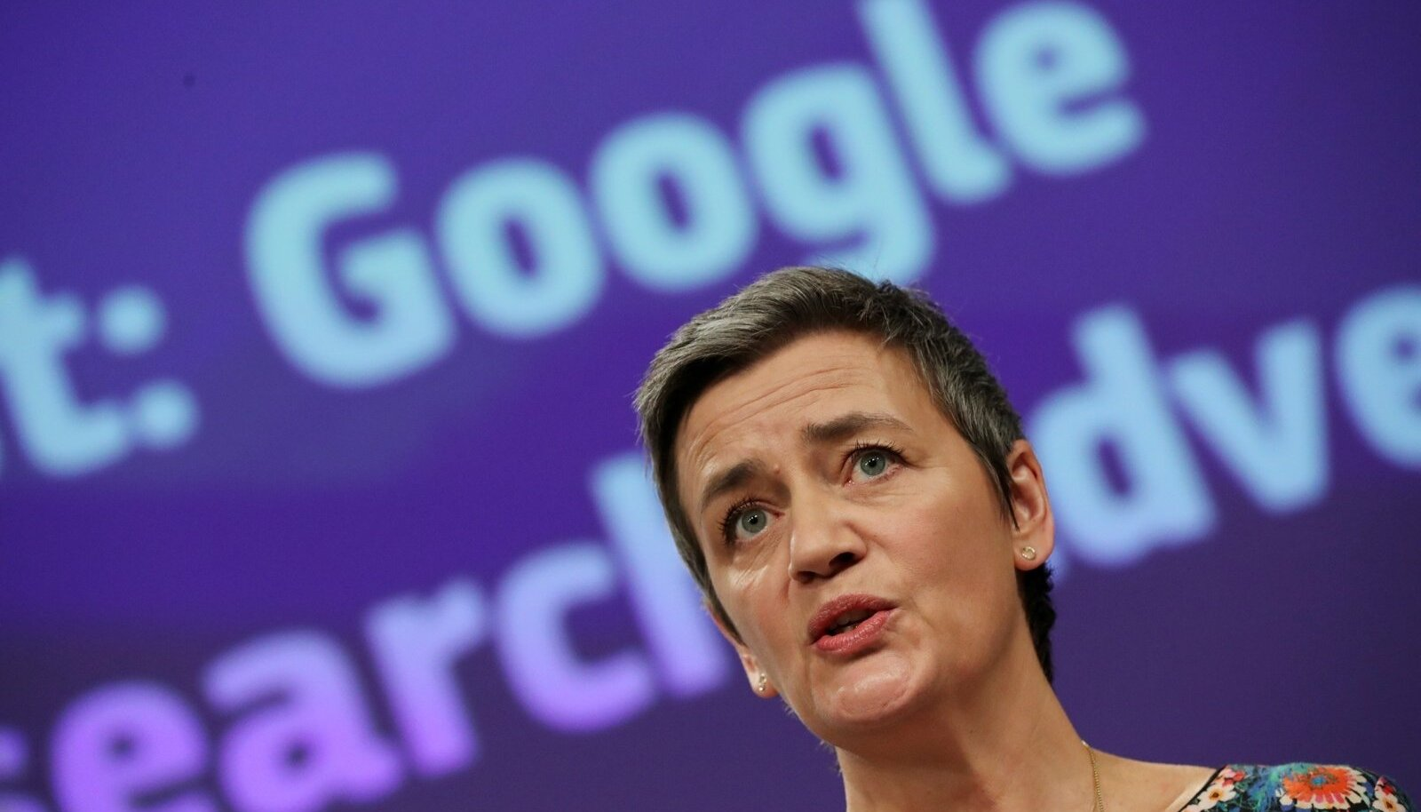 Euroopa Komisjoni konkurentsivolinik Margrethe Vestager
