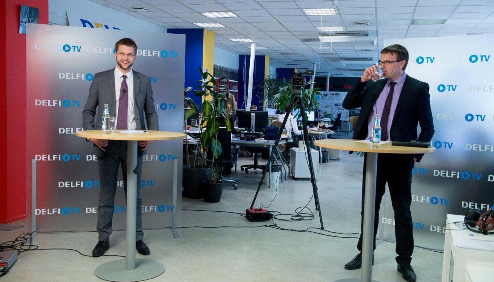 Jevgeni Ossinovski ja Sven Mikseri debatt
