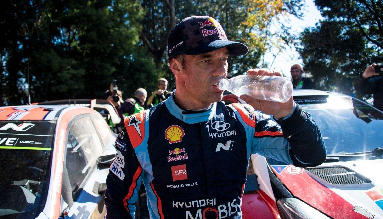 Sebastien Loeb Hyundai värvides.