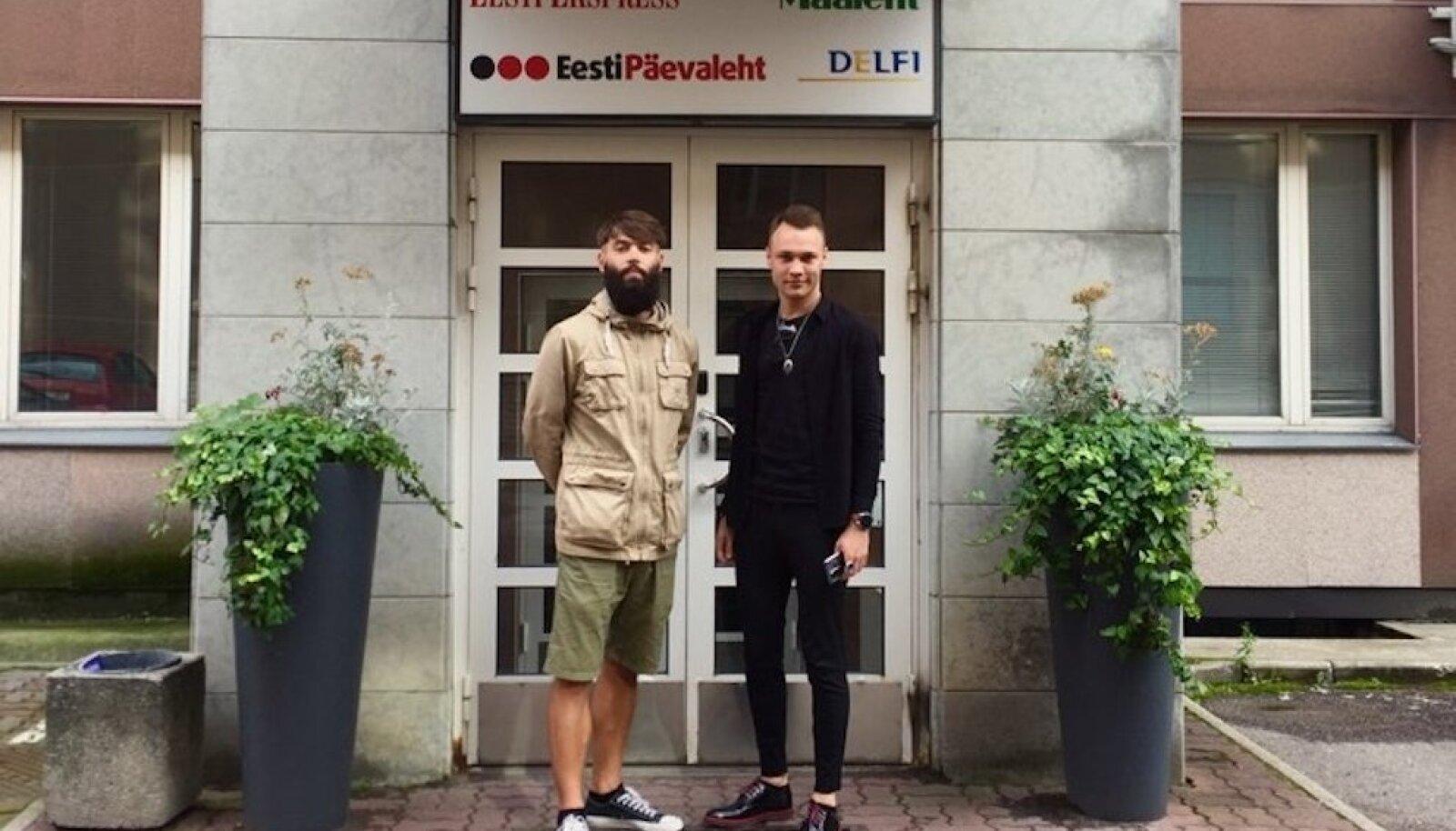 Taavet Kase ja Ants Rootslane