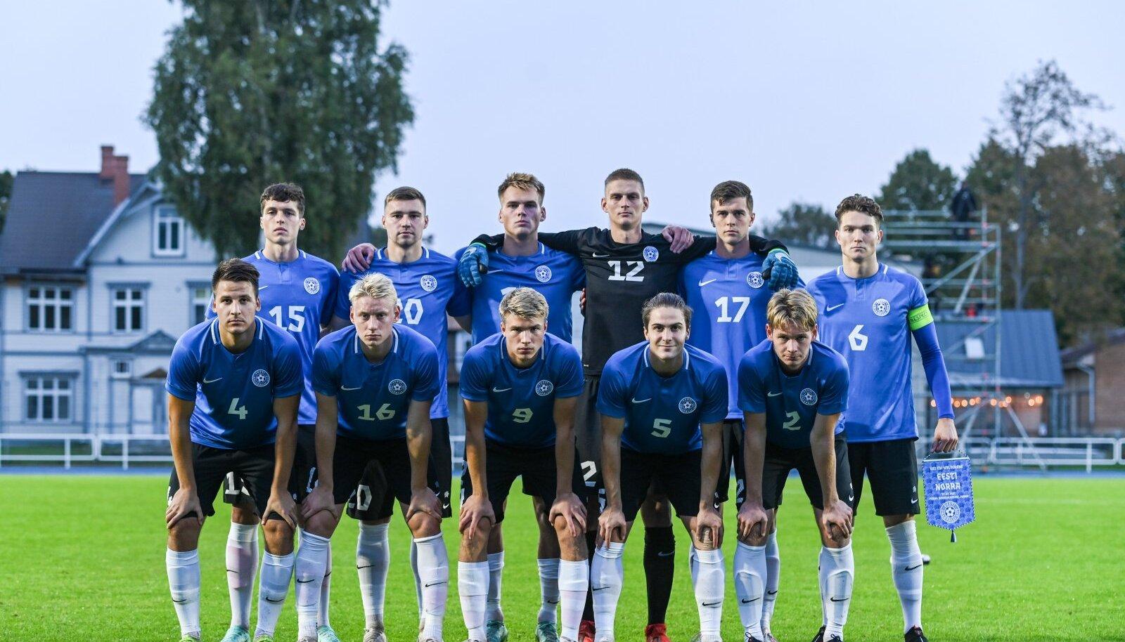 Eesti U21 jalgpallikoondis.