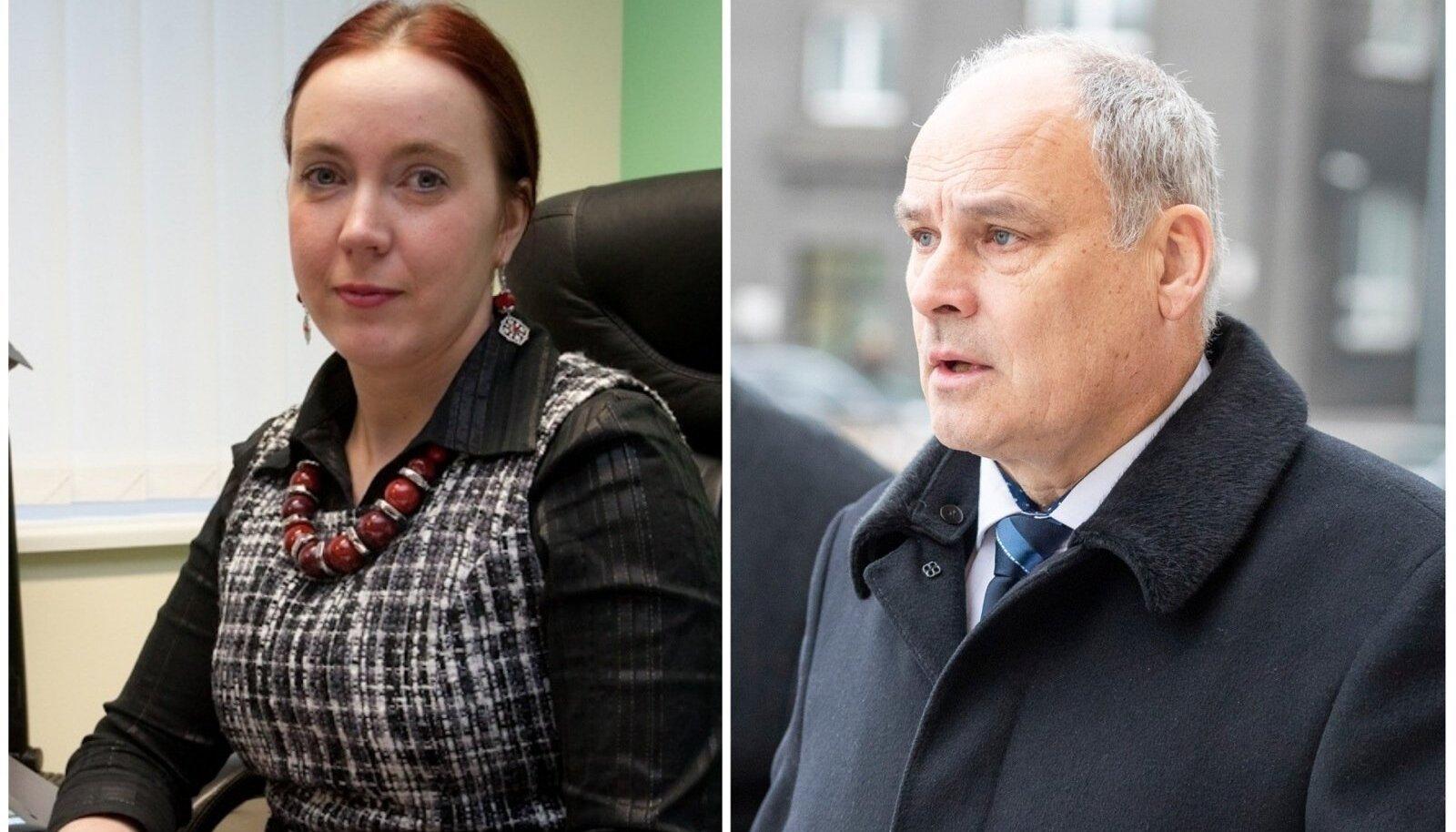 Моника Ранд и Яан Тоотс