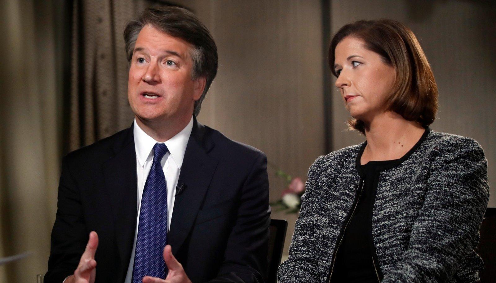 Kavanaugh koos abikaasaga Fox Newsi saates