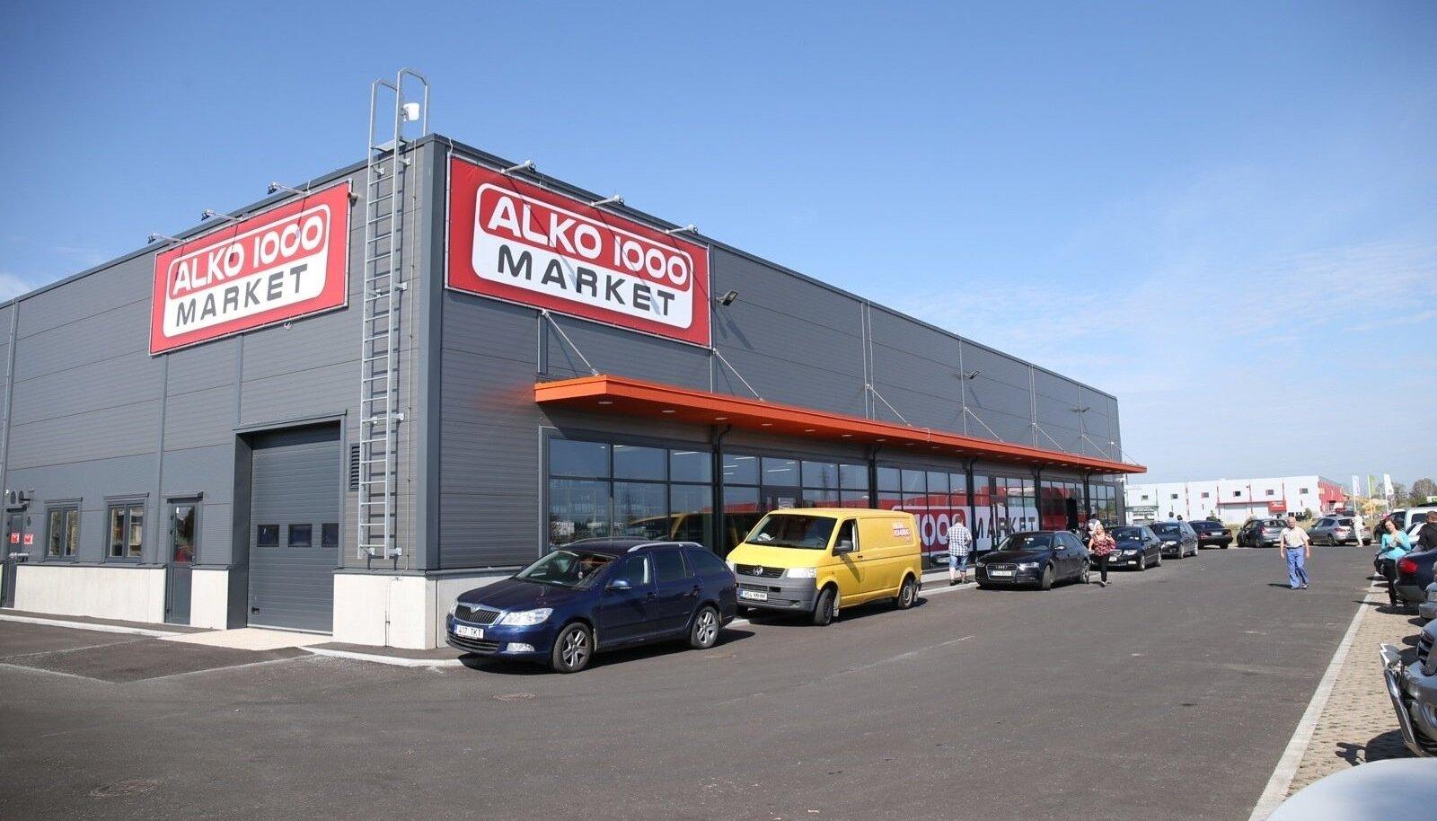 Alko1000 kauplus Tartus