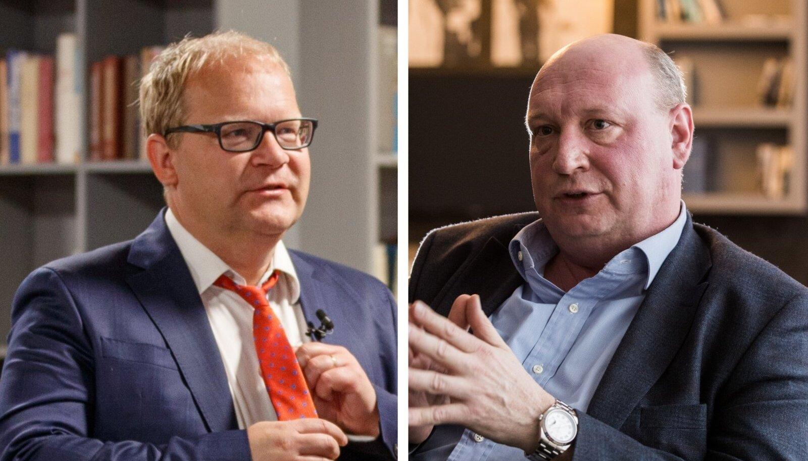 Urmas Paet ja Henrik Hololei.