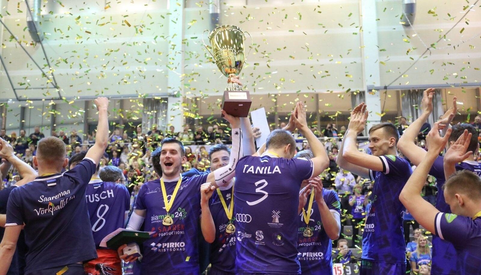 Võrkpalli Balti liiga finaal Saaremaa ja Pärnu