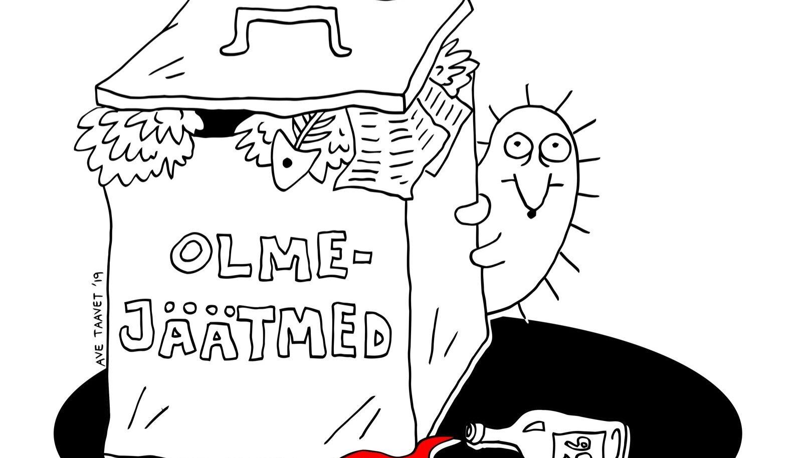 """Kogumiku ühe autori, karikaturist Ave Taaveti novell """"Silitada siili"""" oli algul mõeldud hoopis animatsioonina."""