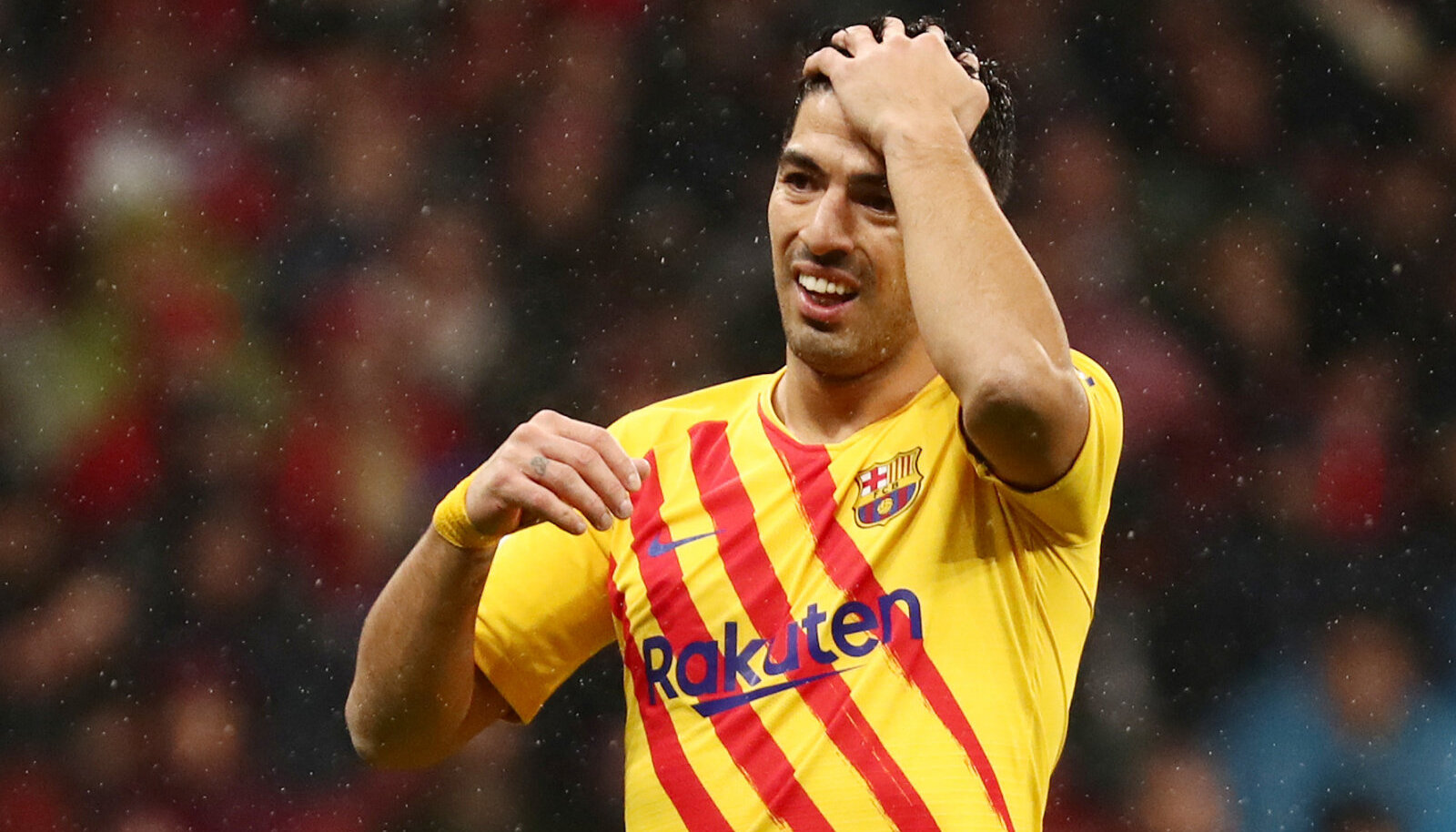 Luis Suarez on üks neist, kellest Barcelona on nõus loobuma.