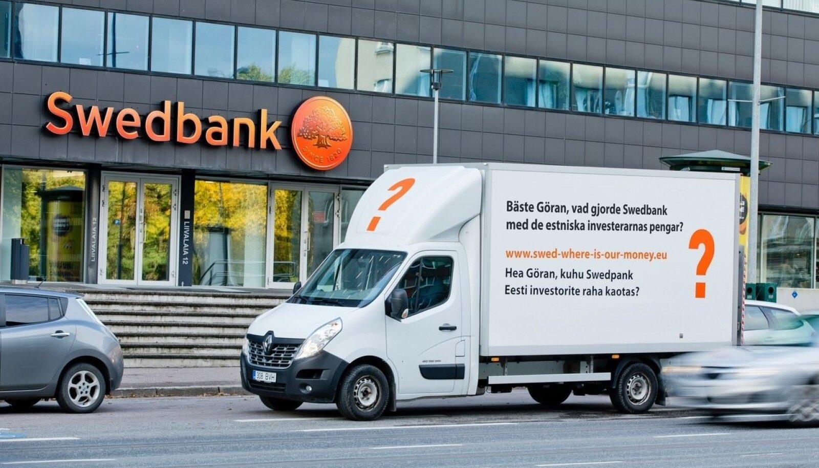 Swedbanki petetud investorite reklaamikampaania.