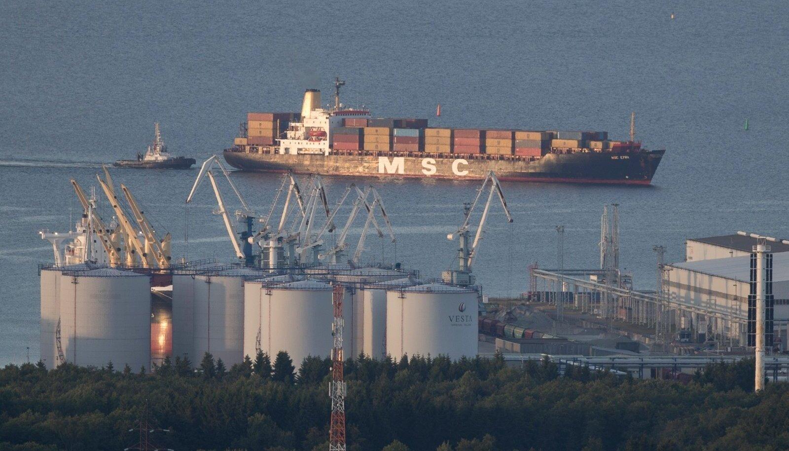 TEEL BÖRSILE? Valitsuse sammud Tallinna Sadama osalise erastamisega on paljutõotavad.