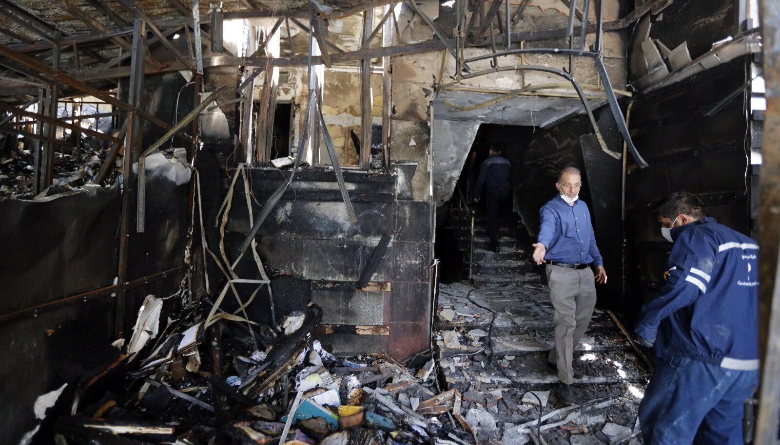 Riismed Teheranis õhku lennanud kliinikust. Plahvatus nõudis 19 inimelu.
