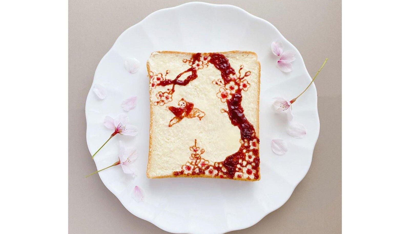 Jaapani kunstniku ja disaineri Sasaki Manani jaoks on röstsai palju enamat kui söök.