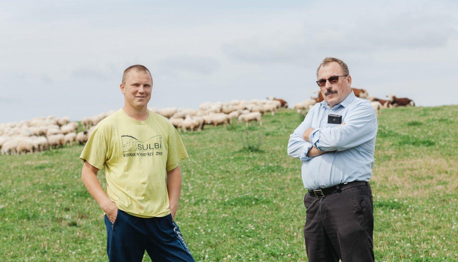 2019.aasta parima talu tiitli võitnud Roosu talu peremehed