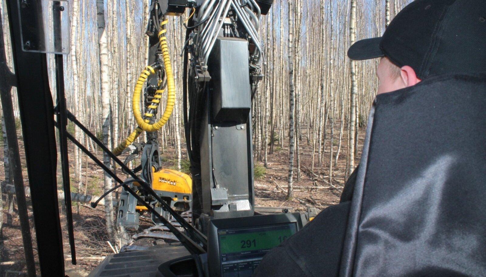 Agaramad on hooldusraiete tegemisel need metsaomanikud, kes toetust küsinud läbi metsaühistu.