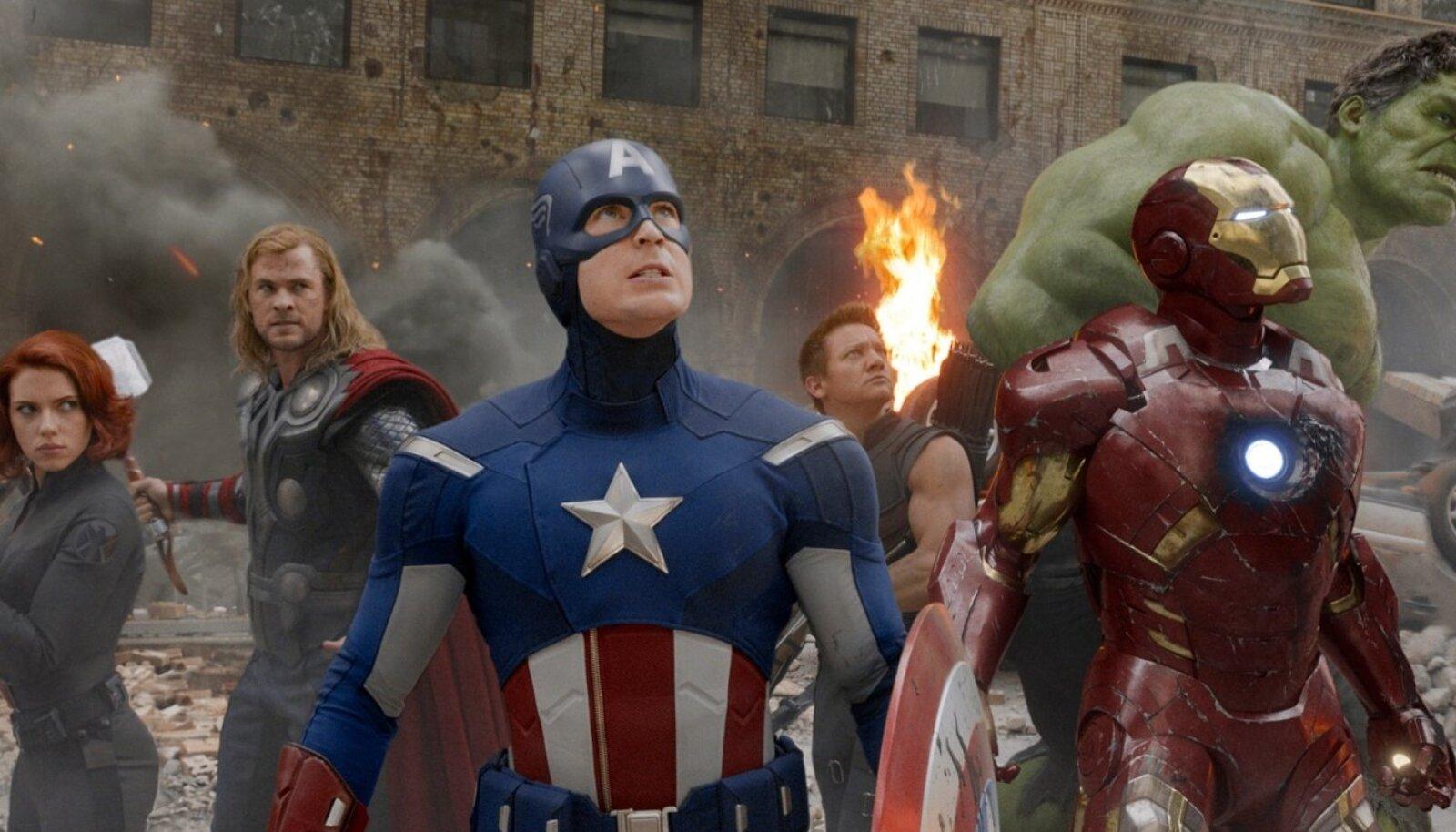 """""""Tasujad"""" (""""The Avengers"""", 2012)"""