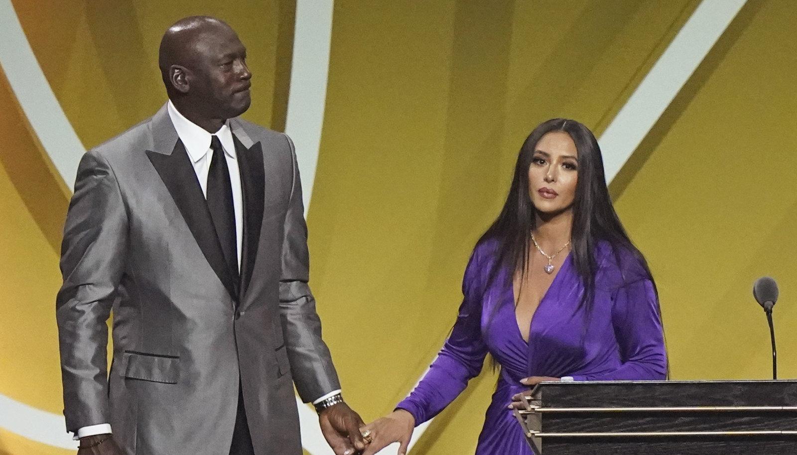 Michael Jordan ja Vanessa Bryant