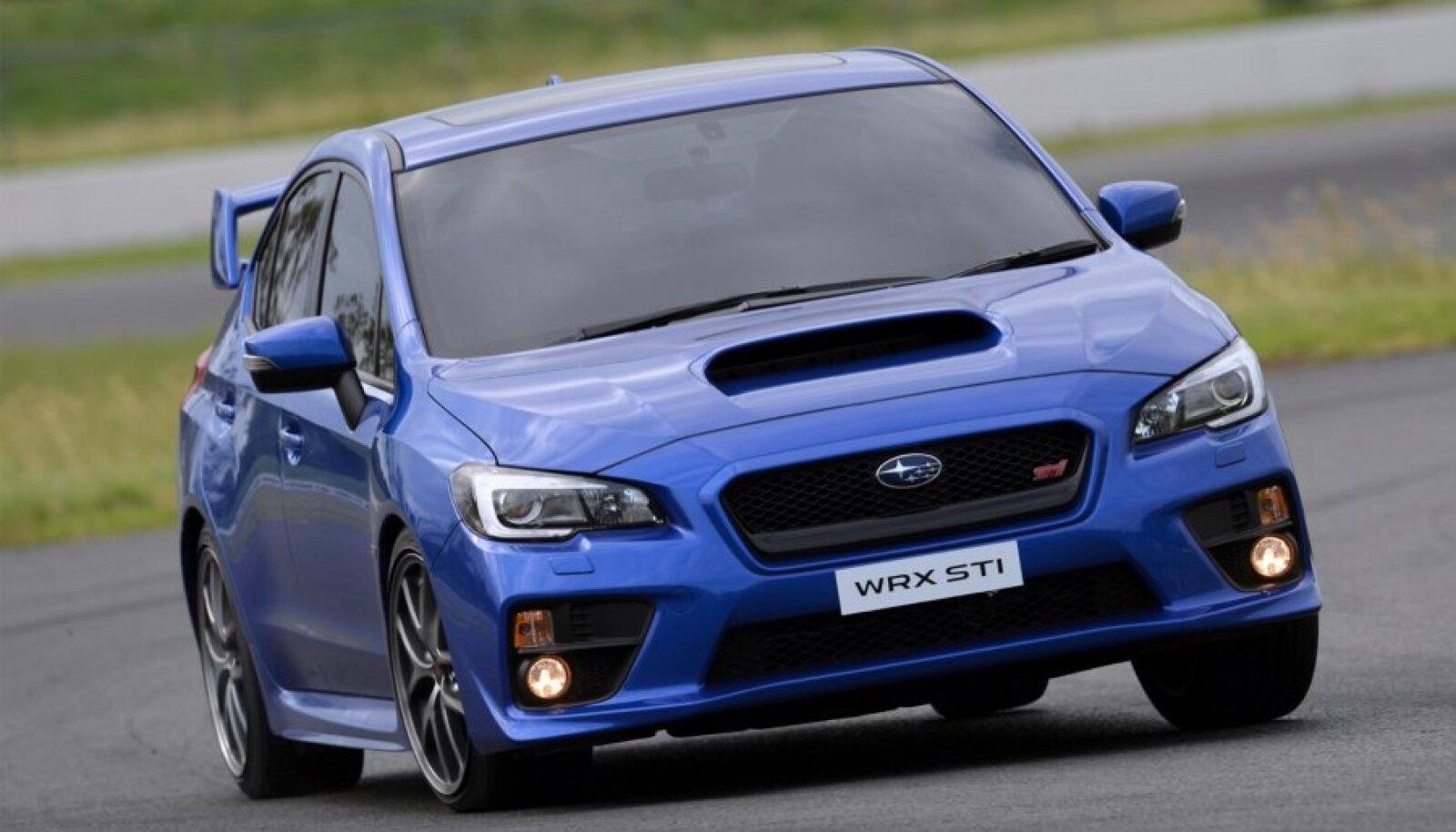 Subaru WRX STI on justkui kahestunud isiksus: sõiduomadused ja välimus pakatavad testosteroonist ning salongi ruumikus ja mugavus räägib taltsast pereautost.