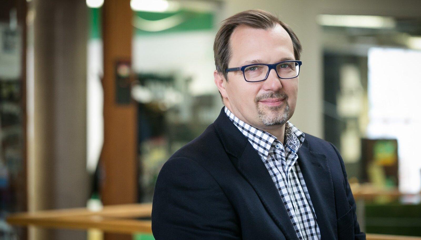 Nortal LLC presidentja grupi juhatuse liige Oleg Shvaikovsky.