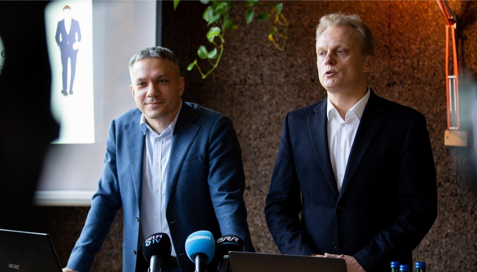 Andrei Korobeiniku ja Imre Sooääre pressikonverents