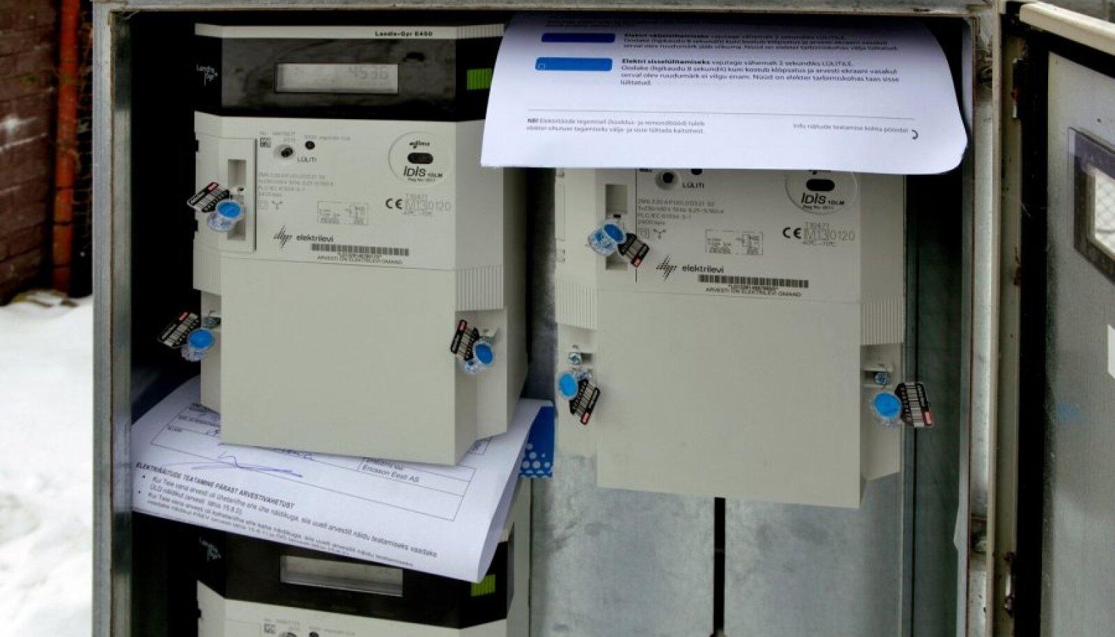 Kaugloetav elektriarvesti