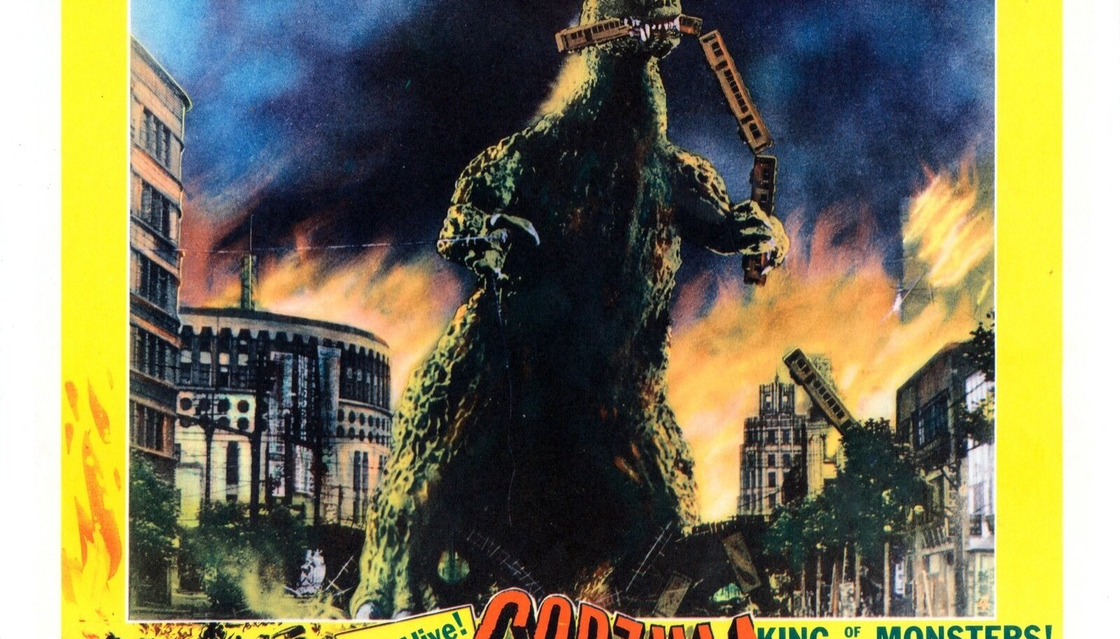 """""""Godzilla, King of the Monsters!"""" (1956)"""
