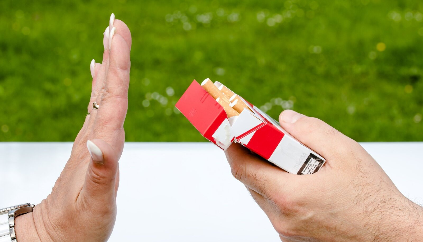 """Kõige targem on tubakale juba alguses """"ei"""" öelda."""