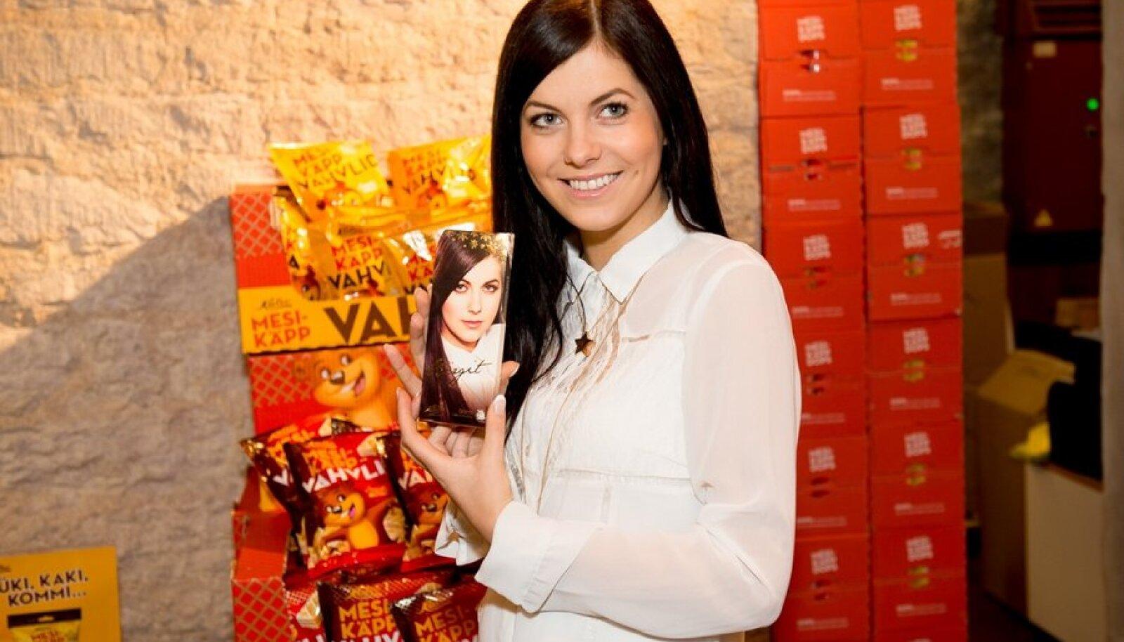 Birgit Õigemeel esitles oma Eurovisiooni shokolaadi nämm nämm