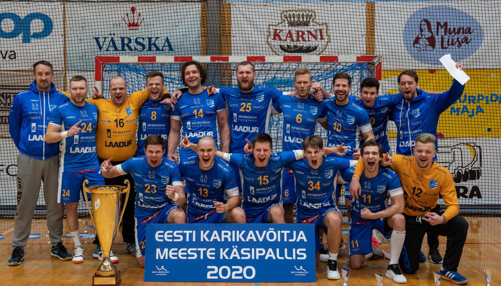 HC Kehra tuli Eesti karikavõitjaks.