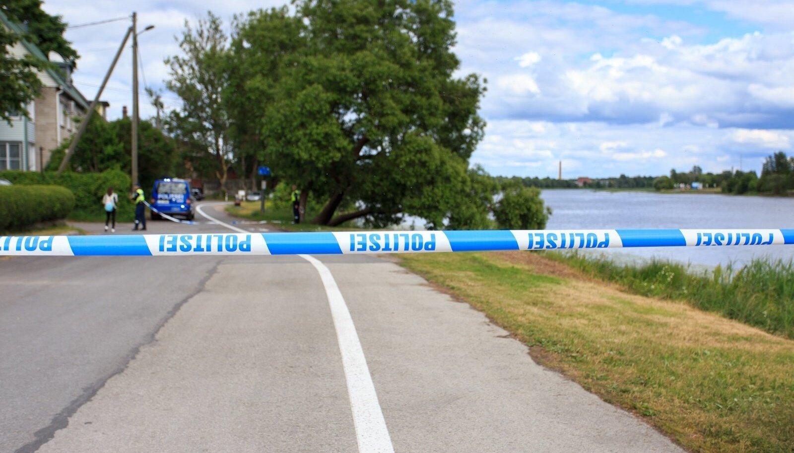 Pärnu jõest leiti naise surnukeha