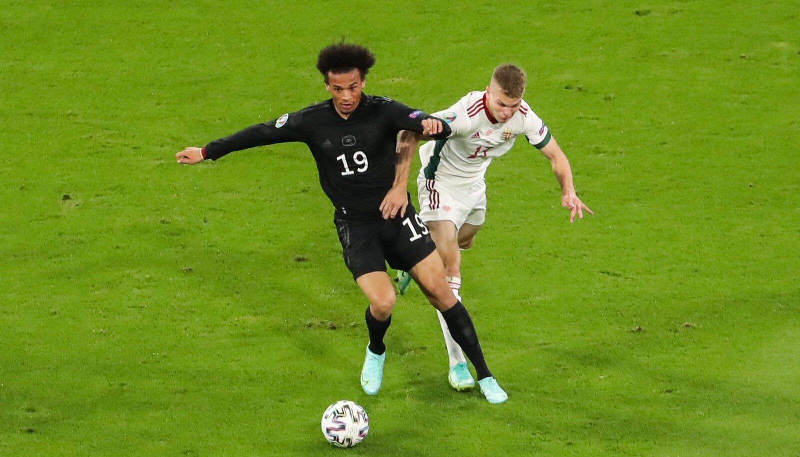 Матч Германии и Венгрии
