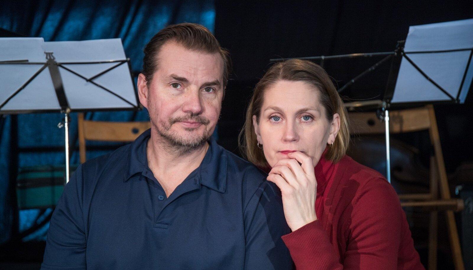 Haide Männamäe ja Toomas Tross on koos teatrit teinud paarkümmend aastat. Klounininaga ja ilma.
