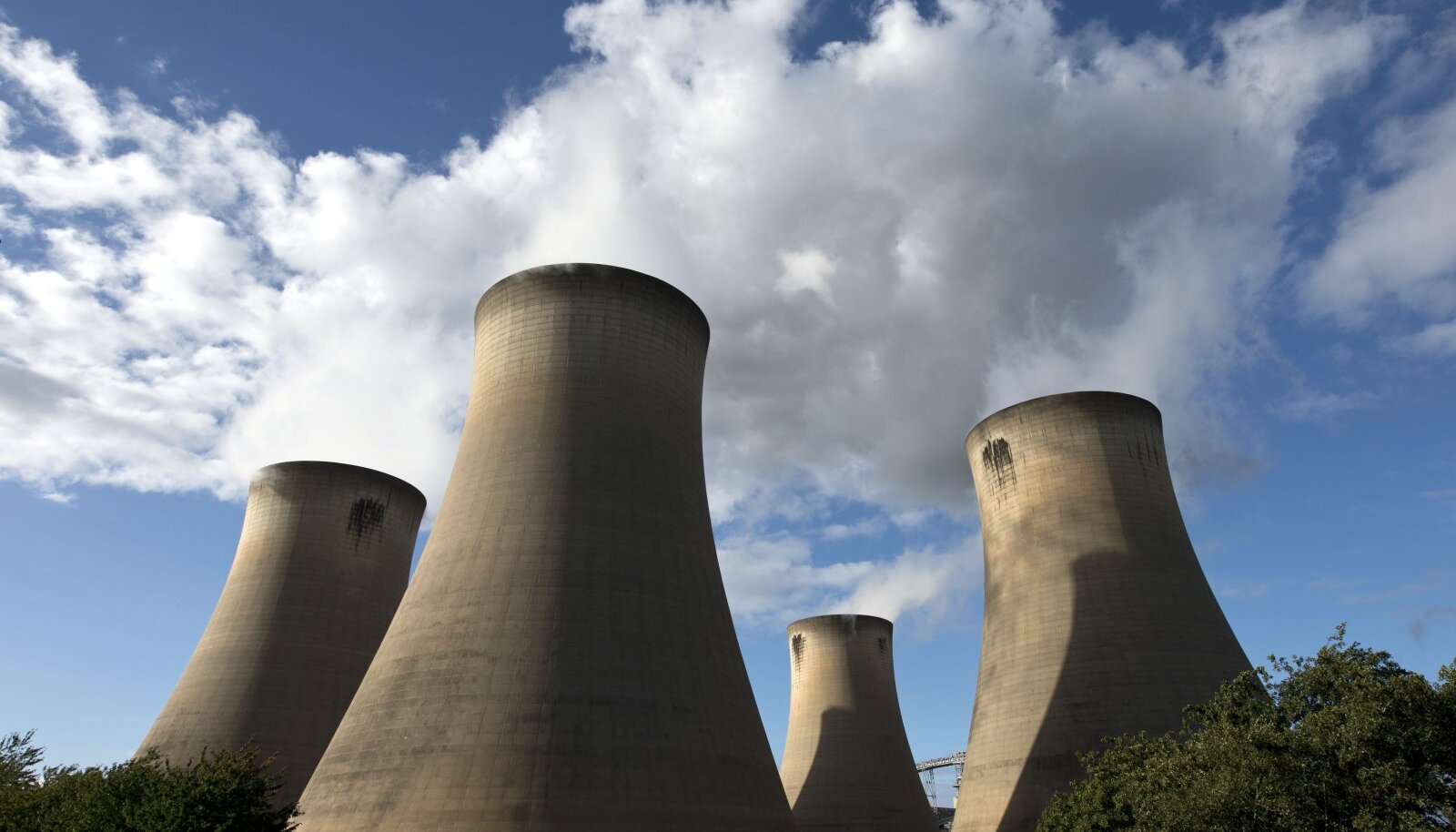 Draxi elektrijaam Selby lähedal Põhja-Inglismaal.