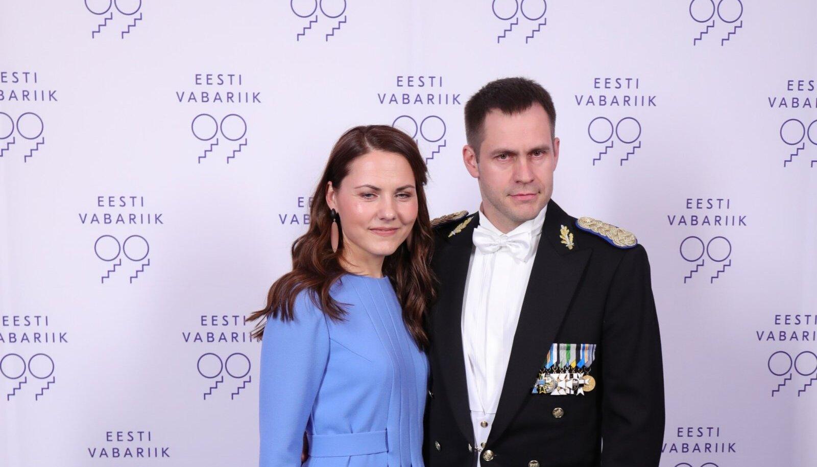 Politsei- ja Piirivalveameti peadirektor Elmar Vaher ja proua Helin Vaher