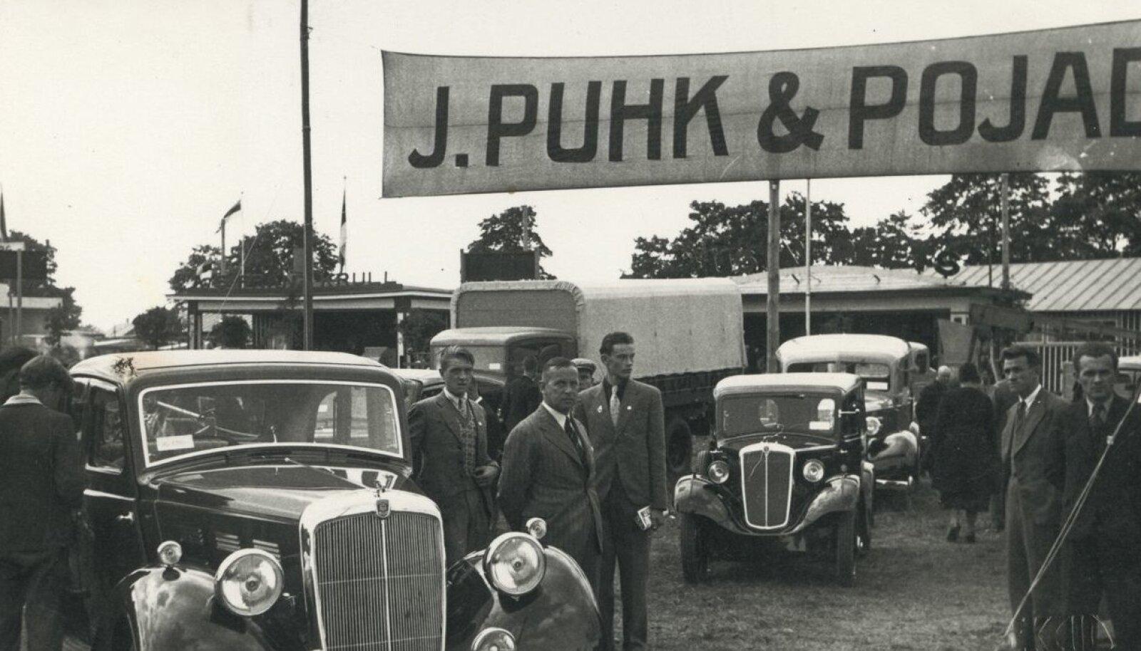 JÕUKAD: Puhkidele kuulus Wabariigi ajal ka Eesti suurim autoäri.
