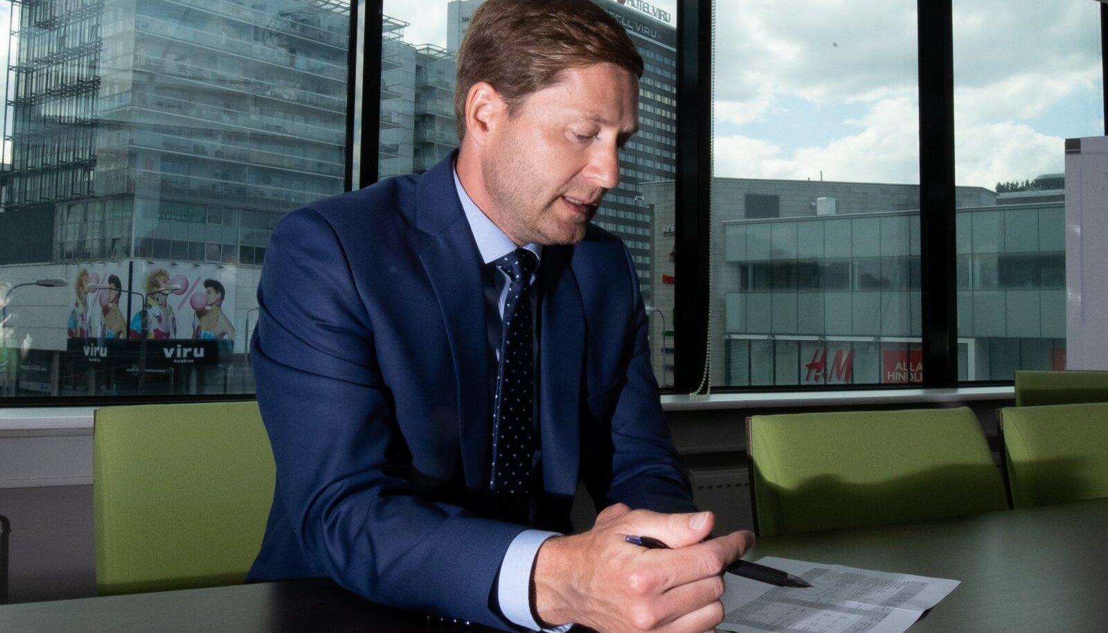KredExi juht Lehar Kütt näeb võimalust anda rohkem laene ja käendusi.